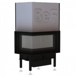 Kaminski vložki BEF HOME -L zasteklitev