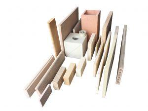 material za obzidavo kamina